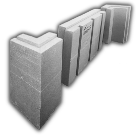 The IS Series is made from BASF's NEOPOR®. NEOPOR® is graphite impregnated into expandable polystyrene (EPS) resin. These tiny graphite particles act as infrared absorbers and heat reflectors lowering the thermal conductivity and greatly increases the thermal resistance (R-Value) of the insulation.